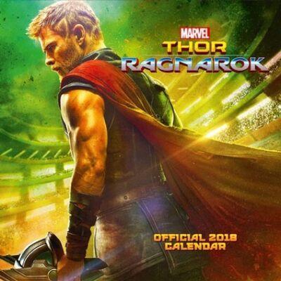 Thor: Ragnarök naptár 2018