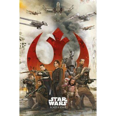 Zsivány Egyes: Egy Star Wars történet plakát - Lázadók
