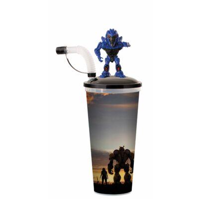 Űrdongó pohár és Dropkick mozgatható topper