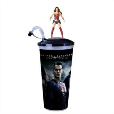 Batman Superman ellen - Az igazság hajnala pohár Wonder Woman topper