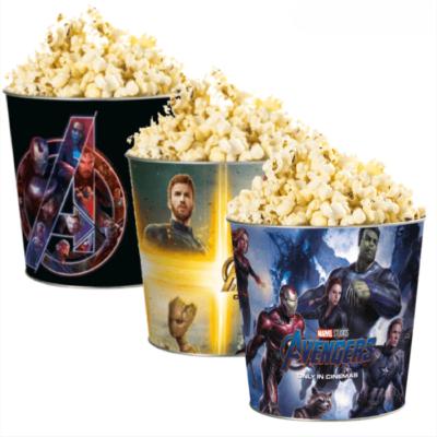 Bosszúállók dombornyomott popcorn vödör szett