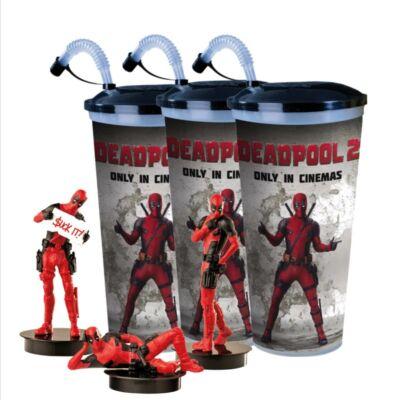 Deadpool 2 pohár és topper szett