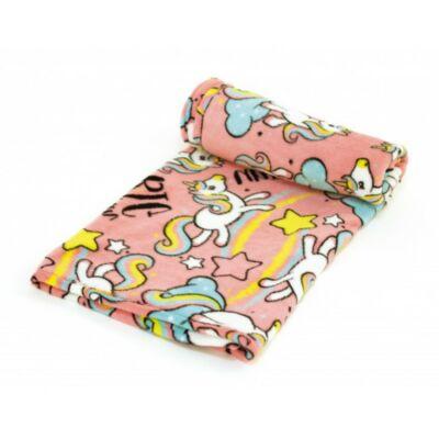 Unikornis coral takaró, ágytakaró