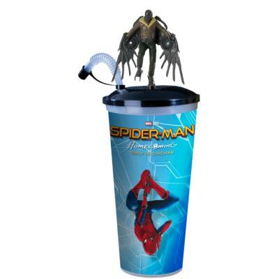 Pókember: Hazatérés pohár, topper és popcorn tasak (Vulture)