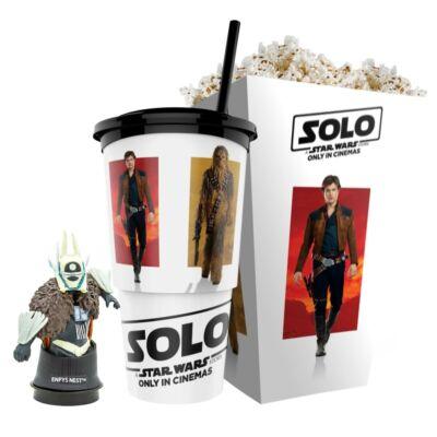 Solo: Egy Star Wars-történet pohár, Enfys Nest topper és popcorn tasak