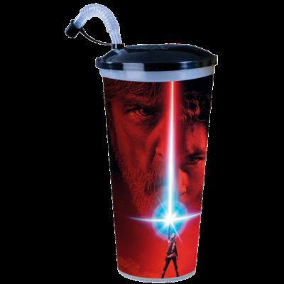 Star Wars: Az utolsó Jedik pohár BB-9 topper és popcorn tasak