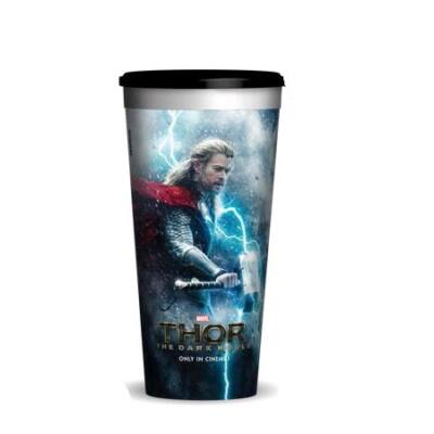 Thor: Sötét világ pohár és Thor topper (figura)