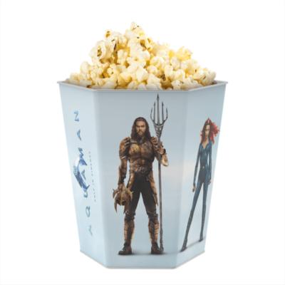 Aquaman dombornyomott popcorn vödör