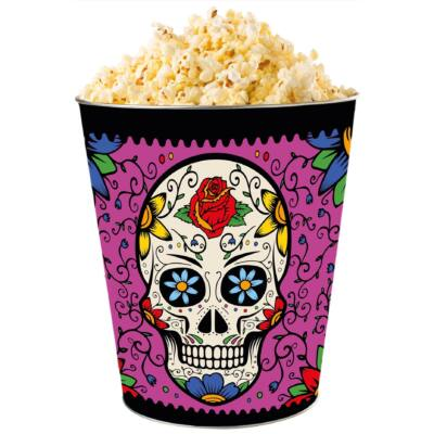 Halloween 2018 giga dombornyomott popcorn vödör rózsaszín