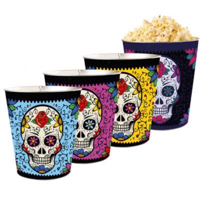 Halloween 2018 giga dombornyomott popcorn vödör szett