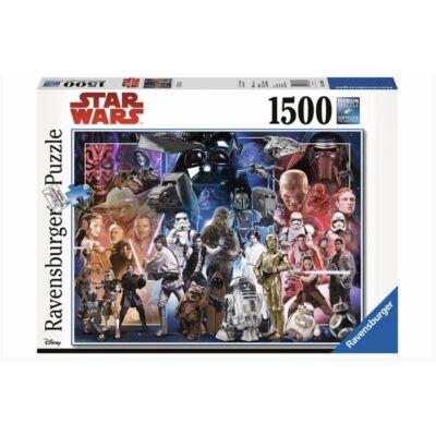 Star Wars karakterek puzzle 1500 darabos