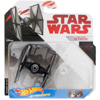 Hot Wheels - Star Wars: Első Rend TIE Fighter csillaghajó
