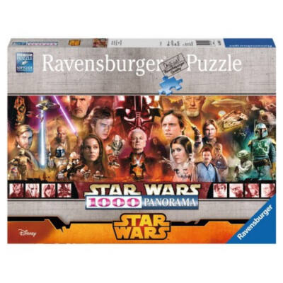 Star Wars 1000db-os panoráma puzzle