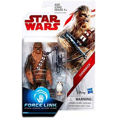 Star Wars: Az utolsó Jedik - Chewbacca Force Link figura