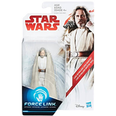 Star Wars: Az utolsó Jedik - Luke Skywalker Force Link figura