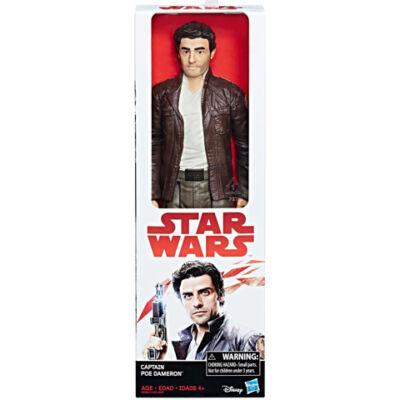 Star Wars: Az utolsó Jedik - Poe Dameron figura Hero Series Captain