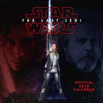 Star Wars: Az utolsó Jedik naptár 2018