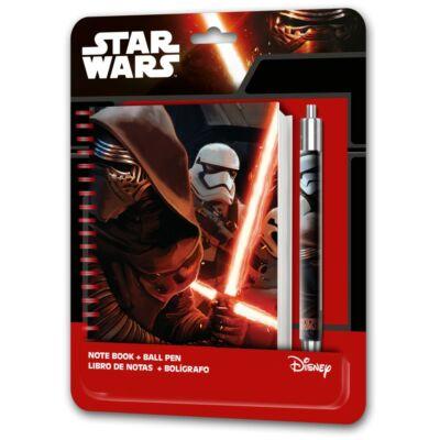 Star Wars Kylo Ren napló és toll szett