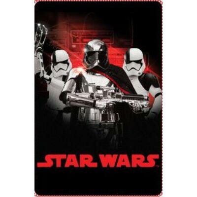 Star Wars: Az utolsó Jedik polár takaró - Phasma kapitány és rohamosztagosok