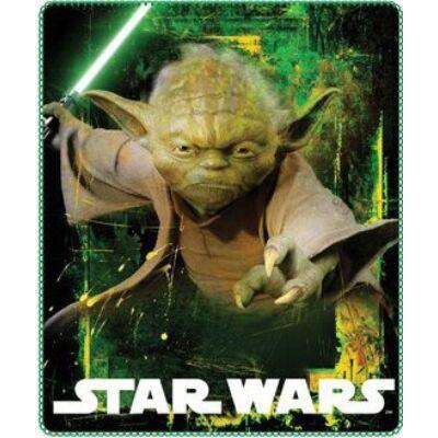 Star Wars - Yoda polár takaró, ágytakaró