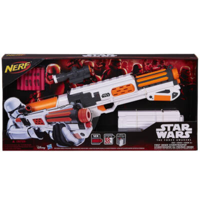 Star Wars: Az ébredő Erő - Első Rend Rohamosztagos Deluxe sugarvető - Nerf