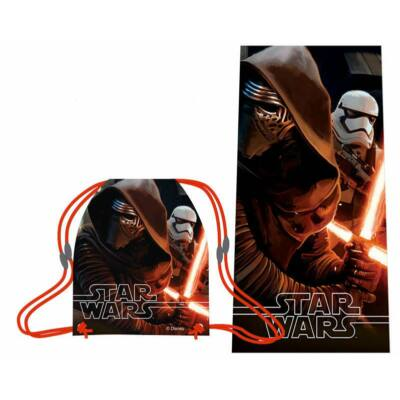 Star Wars - Kylo Ren törölköző és tornazsák szett