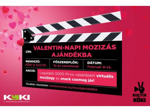 Valentin-napi mozizás a KULTIK KÖKI-vel!