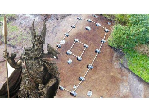 Megdöbbentő felfedezés:  1200 éves Thor templomot találtak