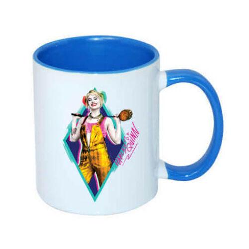 Harley Quinn bögre - Ragadozó madarak blue