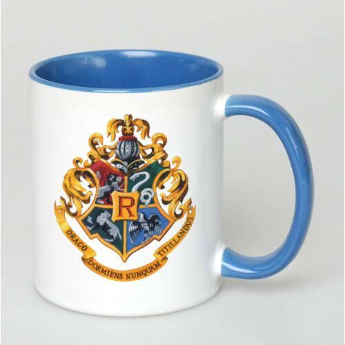Harry Potter bögre - Roxfort - Full Blue