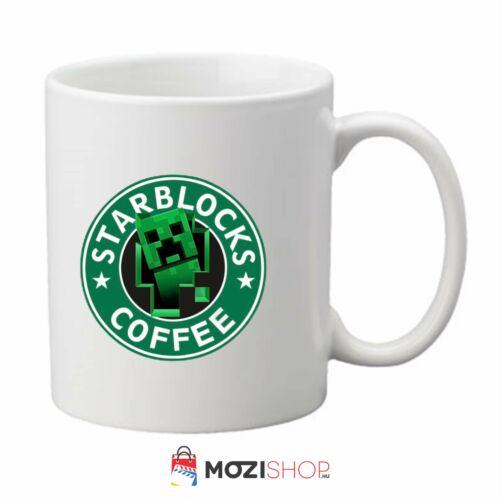 Minecraft bögre - Starblocks Coffee