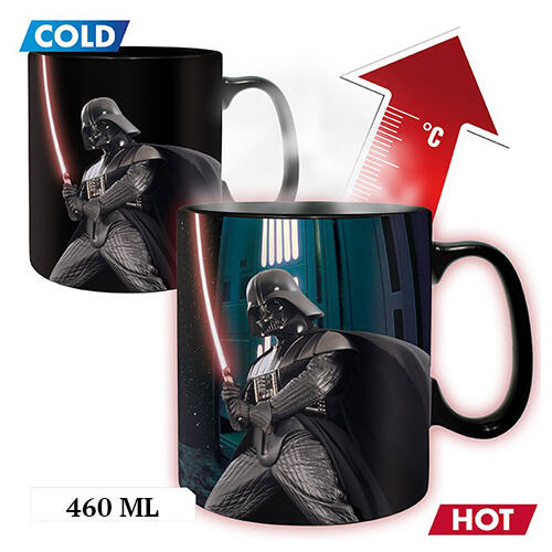 Star Wars Darth Vader hőre változó óriás bögre