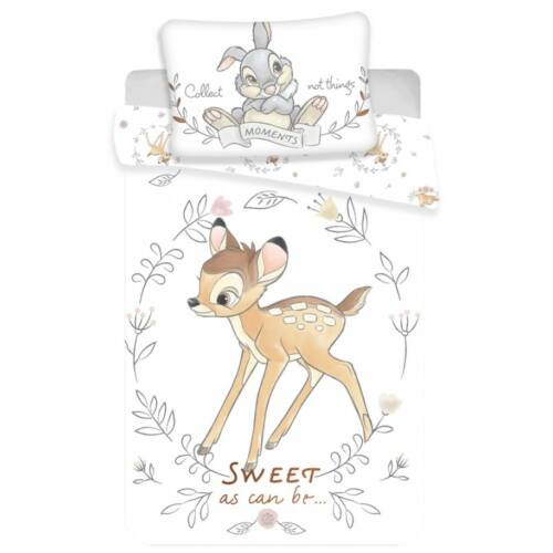 Bambi gyerek ágyneműhuzat garnitúra