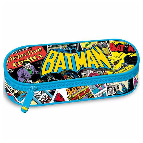 Batman nagy méretű tolltartó kék színben