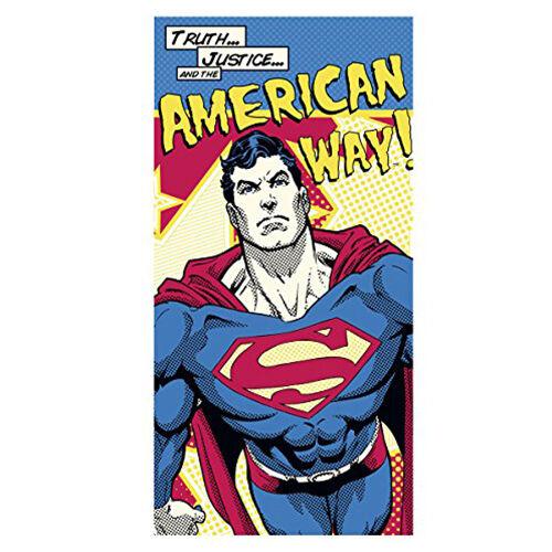 Superman törölköző, fürdőlepedő
