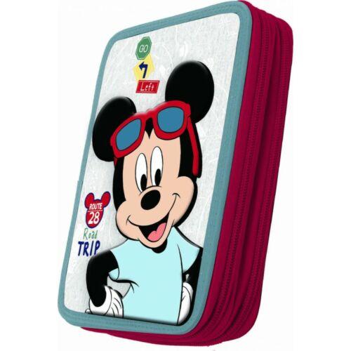 Mickey egér töltött tolltartó - 2 emeletes