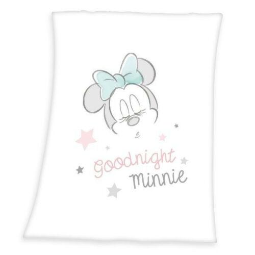 Minnie egér polár takaró, ágytakaró - Good Night