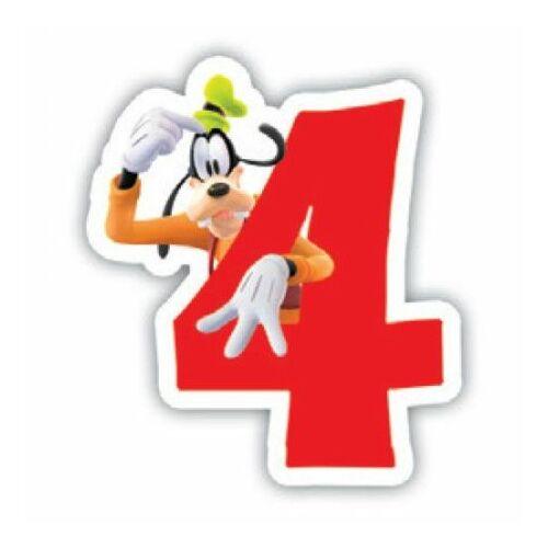 Disney Plútó tortagyertya, számgyertya