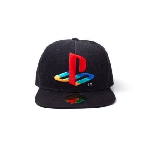 PlayStation Snapback sapka - Logo Denim