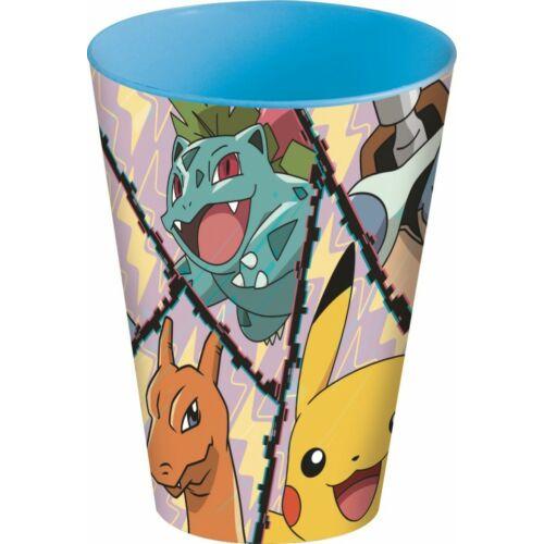 Pokémon műanyag pohár - 430 ml