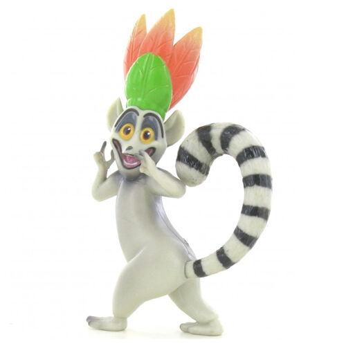 A Madagaszkár pingvinjei Julien kirány játékfigura