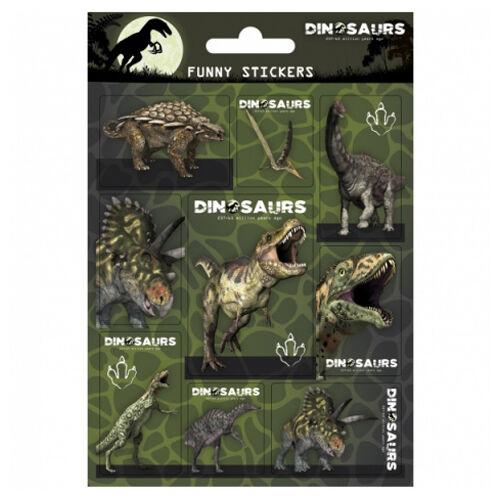 Dinoszauruszos matrica szett