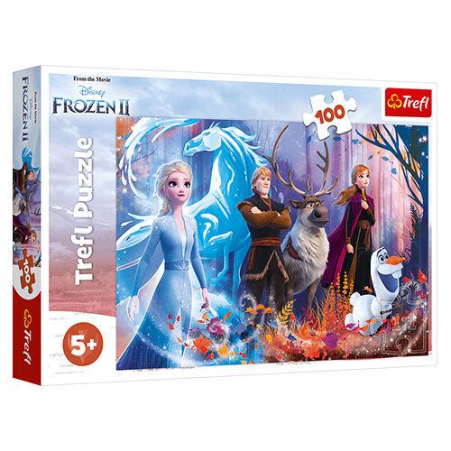 Jégvarázs 2 100db-os puzzle - Fagyos varázslat