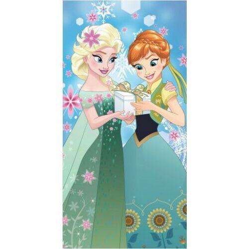 Jégvarázs törölköző, fürdőlepedő - Elsa és Anna