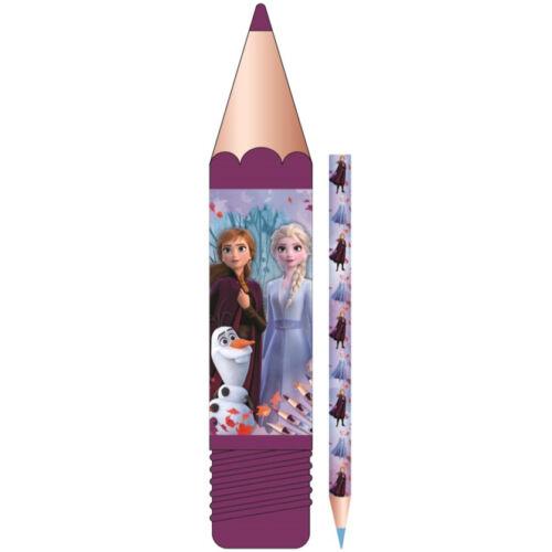 Jégvarázs színes ceruza szett tartóban - 8 db-os csomag