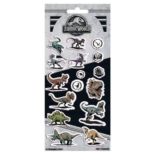 Jurassic World pufi matrica szett