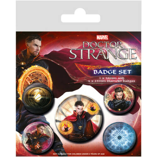 Doctor Strange kitűző szett