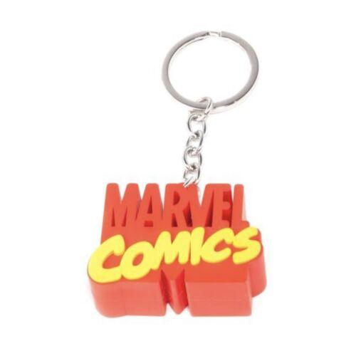 Marvel Comics 3D Logo kulcstartó