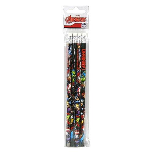 Bosszúállók grafit ceruza radírral 4db