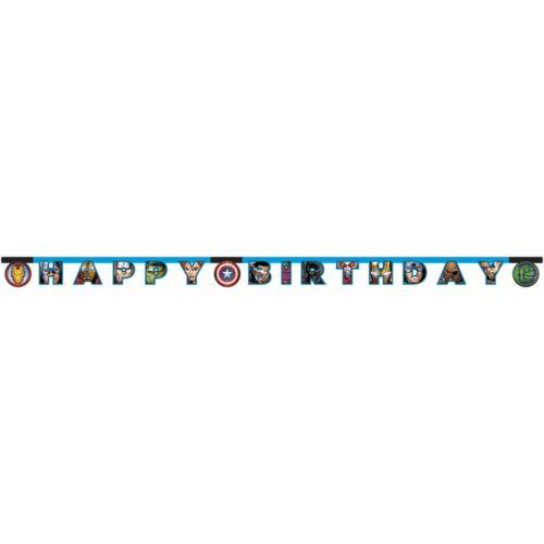 Bosszúállók Happy Birthday felirat - 2 méter